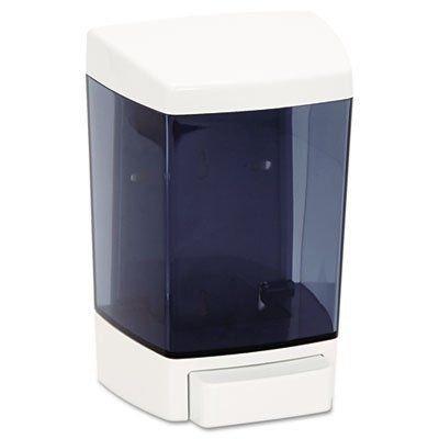 Plastic Soap Dispenser, 46oz, 5 1/2w x 4 1/4d x 8 1/2h, White
