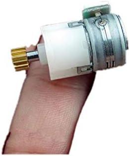 NO LOGO WJN-Motor Gr/ö/ße : 21.3 MM 2ST DC 5V 6V 2 Draht der Phase 4 Micro Schrittmotorgetriebemotoren Planetengetriebemotorgetriebe