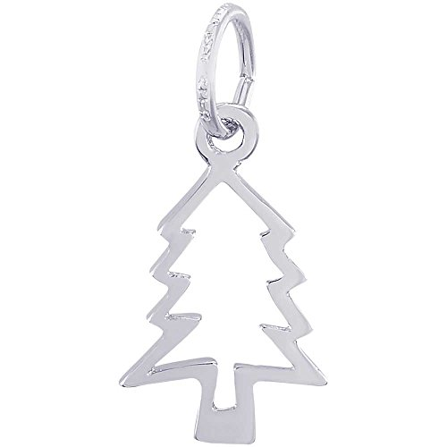 Rembrandt Charms Cookie Cutter Charm, 14K White Gold (Cutter Charm Cookie)