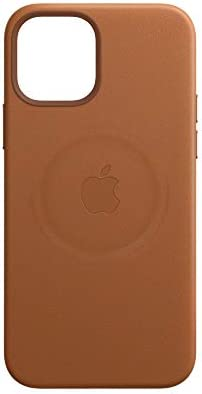 Apple Leather Case with MagSafe (for iPhone 12 Pro Max) - Saddle Brown