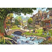 Wentworth Full Stream Ahead Wooden 250 Piece Jigsaw Puzzle