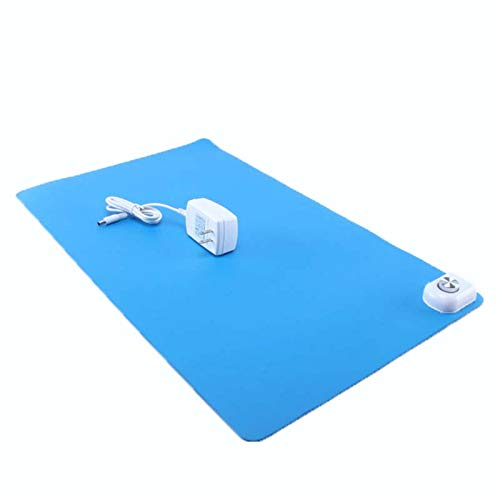 bluee 24V Electric Heater Pet Electric Blanket Heating Pad Dog Cat Thermostat Heating Pad