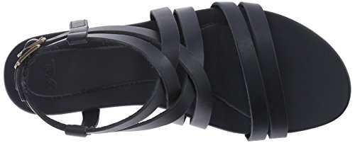 Teva TevaAvalina Crossover Leather WS - Sandalias Atléticas Mujer Negro - Noir - Noir (513)