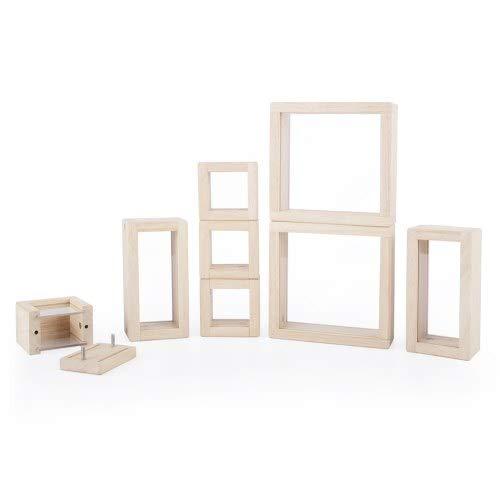 本物保証!  Guidecraft – Treasureブロック – Treasureブロック クリア、透明Windowsと滑らかな木製観測Stackingブロック、子供の教育玩具 Guidecraft B078W97CMB, オガツチョウ:28a78a6a --- a0267596.xsph.ru