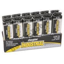 Energizer Industrial 9V Size - 72 Pack by Energizer