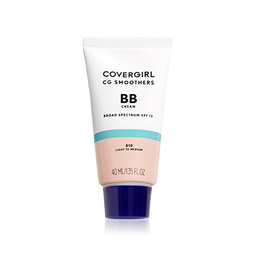 COVERGIRL Smoothers Lightweight BB Cream, Fair to Light 805, 1.35 Ounce (Packaging May Vary) Lightweight Hydrating 10-In-1 Skin Enhancer with SPF 15 UV Protection