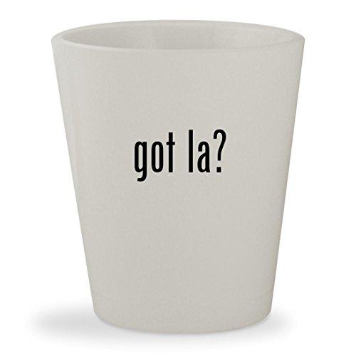 got la? - White Ceramic 1.5oz Shot Glass (Tickets To Vegas Airline Las)