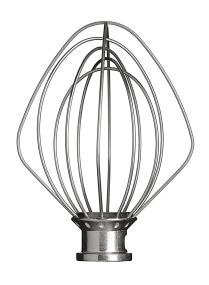 Wire Whisk K45WW: 6-wire whisk with stainless steel wires and aluminium head
