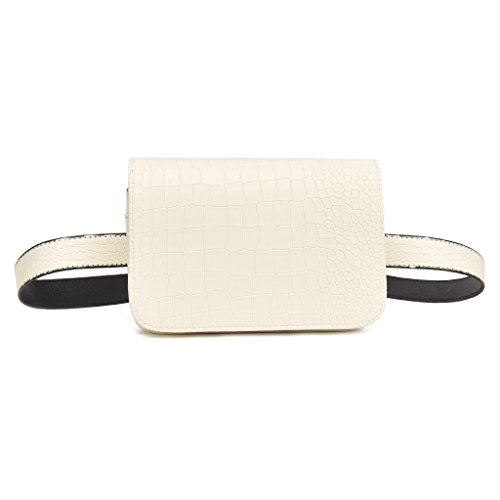 ULKEME 1pcs Latest Fashion PU Waist Bag Ladies Portable Phone Female Pack (Latest Fashion Bag)