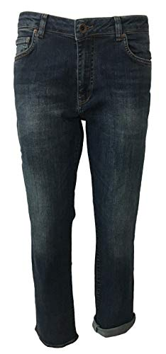 Seven7 1448643 Donna Boy friend Ricky Jeans Cotone 2 Verdetb Mod 98 Elastan RrqRw