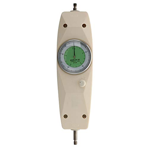 RICH-Po NK-100 Mechanical Analog Push Pull Gauge Force Gauge Mechanical Analog White