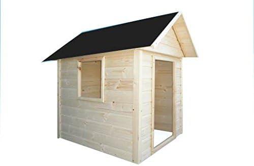 Cadema Casita de jardín para niños, casa de juguete de madera, 1 ...