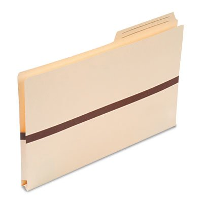 Smead One Inch Accordion Expansion File Pockets, 2/5 Tab, Legal, Manila. Single folder included.
