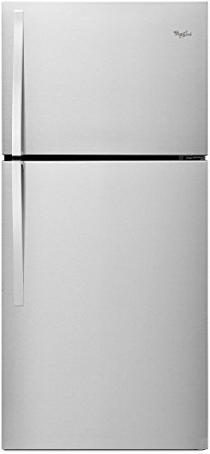 Refrigerator Bisque Side Side By (Whirlpool WRT519SZDT 19.2 Cu. Ft. Bisque Top Freezer Refrigerator)