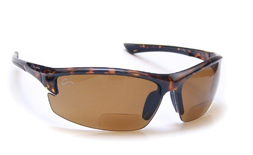 Coyote Eyewear Polarized Reader Sunglasses, Tortoise, Copper +2.50 - Polarized Sunglasses Bifocal