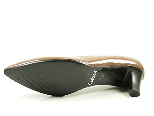 Gabor 71-250 Zapatos de tacón de material sintético mujer Braun