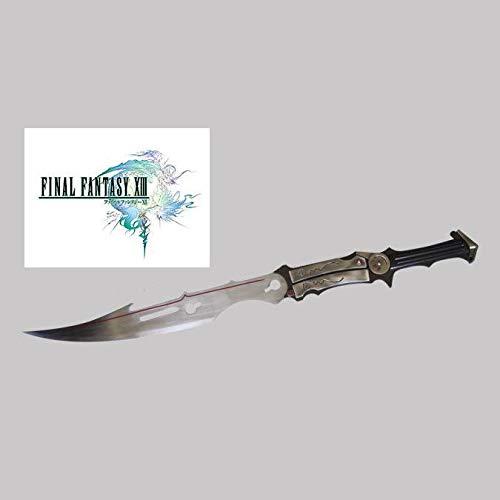 RealFireNSteel Final Fantasy XIII - Lightning's Blazefire Saber Gunblade
