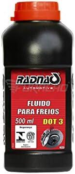 FLUIDO DE FREIO DOT 3 UNIVERSAL 500ML RADNAQ