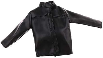 Kids Leather Jacket Boys Childrens 1-12 Years Sizes Black Bomber Leather Coat