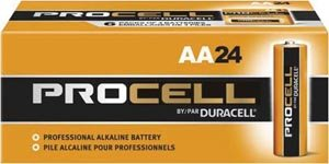 Price comparison product image Duracell Procell AA 24 Pack PC1500BKD09