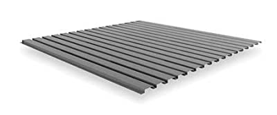 Corrugated Steel Decking, Gray, 48 In. W BSD-4848