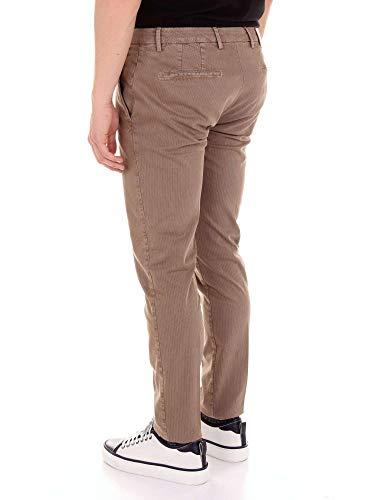 Uomo Cotone Marrone Bg0438577lightbrown Pantaloni Briglia 1949 qgSwnETPxz