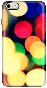 Stylizedd Apple iPhone 6 Plus Premium Dual Layer Tough case cover Gloss Finish - City Lights I6P-T-61