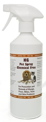 Natural Enzymes KG Pet Spray 500ml Rids & Protects from Mange, Fleas,...