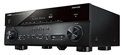 Yamaha AVENTAGE Audio & Video Component Receiver,Black (RX-A770BL)