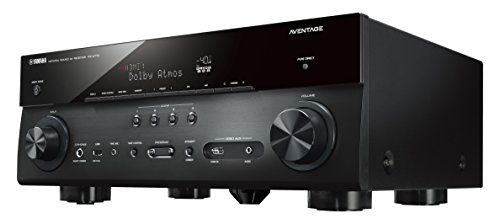 Yamaha AVENTAGE Audio & Video Component Receiver, Black (RX-A770BL), Works with Alexa