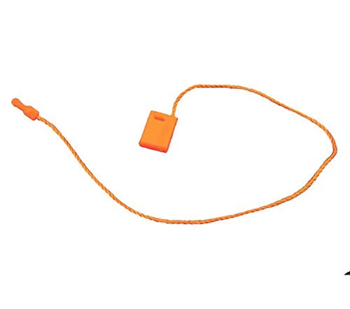 "Top Hang Tag Fasteners Orange Nylon Strings 7"" long - 100 Pieces hot sale"