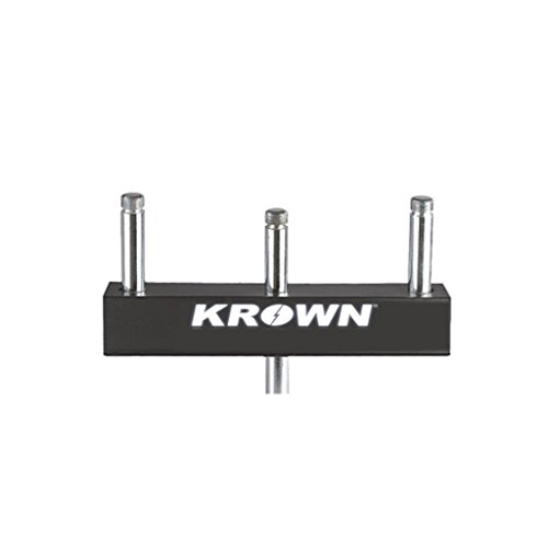 Krown 3 Microphone Tee Connector for Microphone Stand