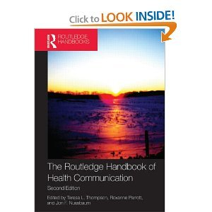 Lea Health Communication Course Pak: The Routledge Handbook of Health Communication (Routledge Communication Series)2nd (Second) (Players Pak)