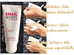 Snail White Body Booster SPF 30/PA+++ UVA/UVB Snail slime extracts Formulated with Astaxanthin that stimulates collagen production in the skin.50ml.