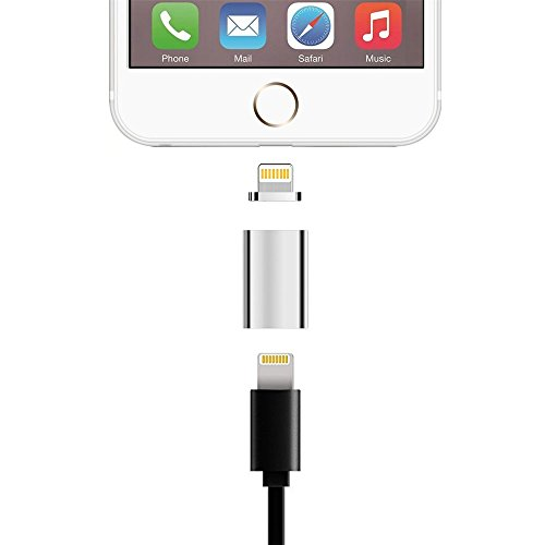 Cheap Lightning Cables iPhone Lightning to Magnetic Lightning Male Charger Converter Adapter for iPhone X..