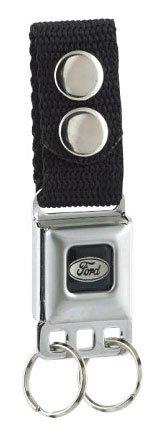 Ford Emblem Seat Belt Buckle Style Keychain - Seat Belt Buckle Emblem