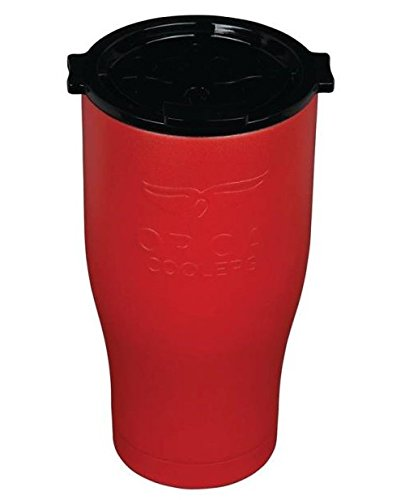 ORCA Cooler 27 fl. oz. Red and Black Team Chaser, BPA Free,