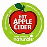 Green Mountain NaturalsTM Hot Apple Cider K Cups 144 Ct (6 Boxes of 24 Ct) by Green Mountain Coffee