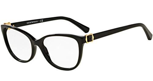 Emporio Armani EA3077 Eyeglass Frames 5017 - Black - Emporio Eyeglasses Frame Armani
