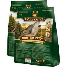 Wolfsblut Hunters Pride mit Fasan, Ente und Kaninchen SPARPACK 2x15 kg