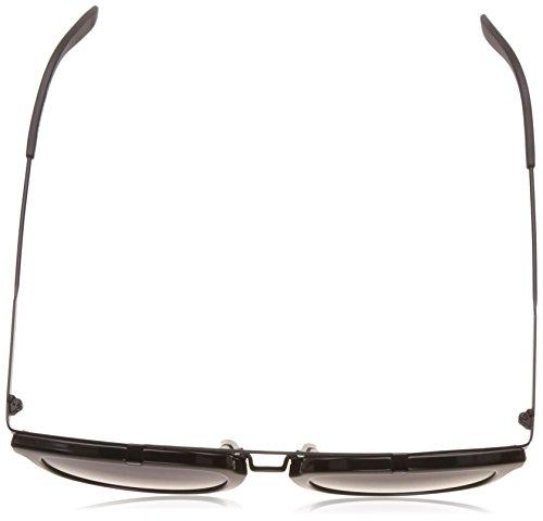Carrera Unisex 127 51 Grey Sol GVB IR Negro de Blue Gafas Blk S Adulto Matte Shn qrqTF