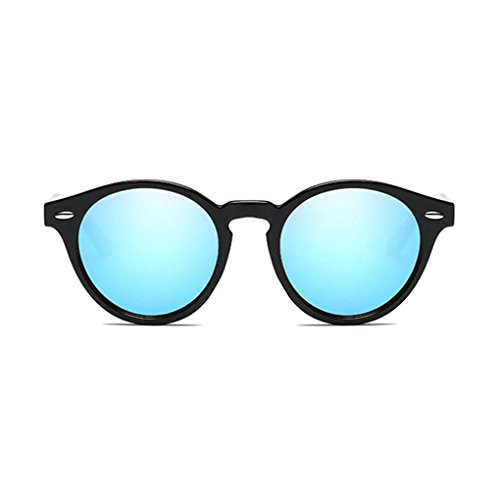 UV400 las retro conducción lentes de de forma protección Mujeres Ronda Coolsir 4 unisex en PC de de Gafas polarizadas sol Marco gafas Hombres qPtaR