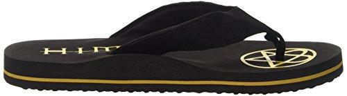 HIM - L - Gray Logo Herren Sandale