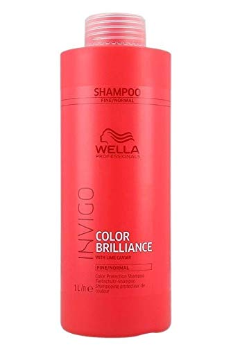 Wella Brilliance Shampoo for Fine To Normal Colored Hair for Unisex, 33.8 Ounce