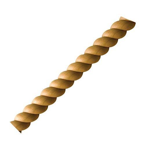 - Split Rope Molding, Cherry 3/4