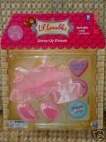 Lil Luvables Fluffy Bear Factory Dress-up Dreams Ballerina Outfit