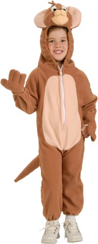 Tom n Jerry - Jerry Child Halloween Costume Size 4-6 Small (Tom Halloween Costumes)