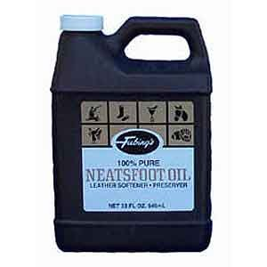 Neatsfoot Oil Uses - Fiebings - 100% Pure Neatsfoot Oil , Natural Preservative , Various Sizes, 1 Gallon
