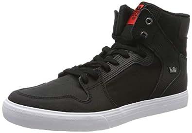 Supra Footwear - Vaider, Black Tuf-White, 6 M US