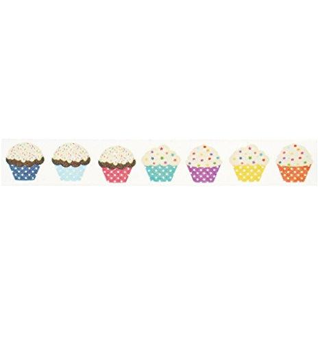 Cupcake Washi Tape (1 Roll - 9/16